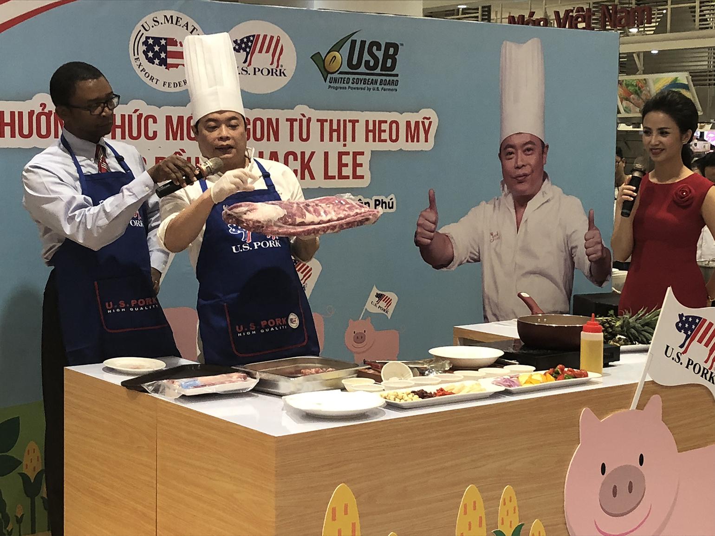 Singapore covets high-end U S  pork