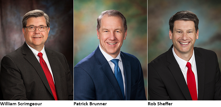 Zinpro Corp. leadership: William Scrimgeour, CEO; Patrick Brunner, COO; Rob Sheffer, company president