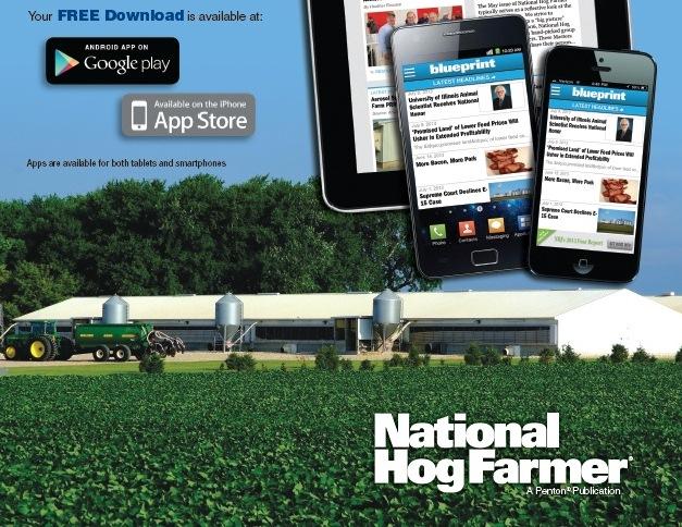 Blueprint app for best pork management practices data national hog blueprint app for best pork management practices data national hog farmer malvernweather Gallery