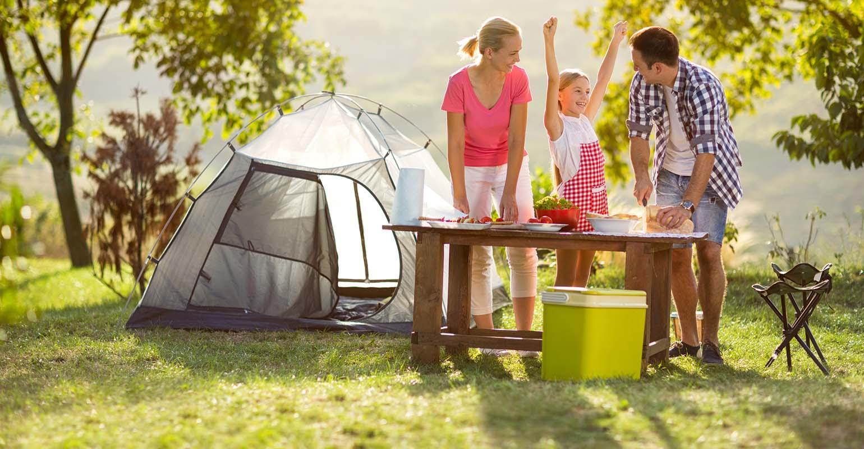 что картинка где семья с палаткой на пикнике египта курортами