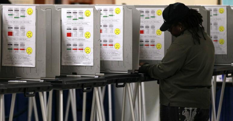 San Francisco Citizens Vote In Mayoral Elections
