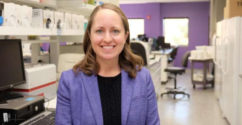 Megan Niederwerder, Kansas State University assistant professor of diagnostic medicine and pathobiology, is studying the risk of African swine fever virus in feed and ways to prevent the spread of the disease to the U.S.