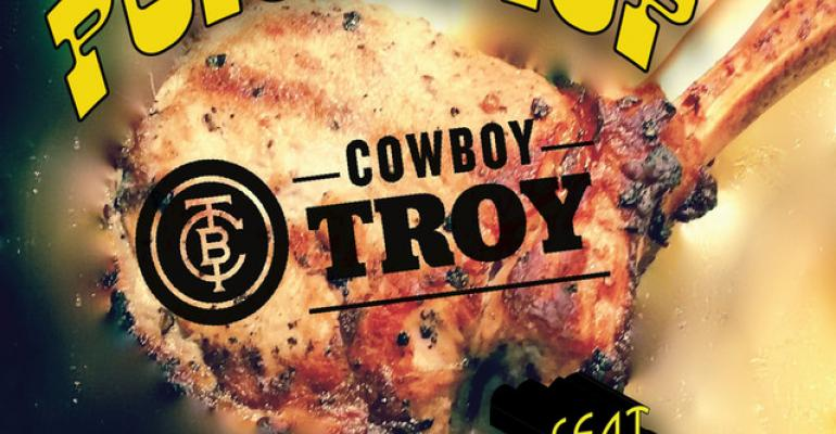 Cowboy Troy, Monroe Brown Porkchop