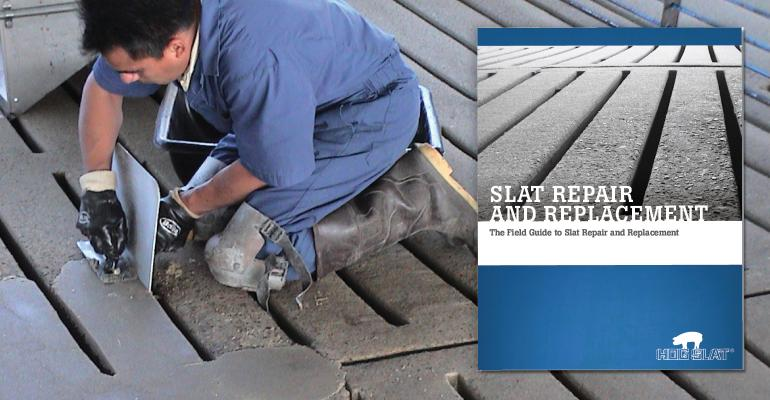 The field guide for slat repair and replacement | National Hog Farmer
