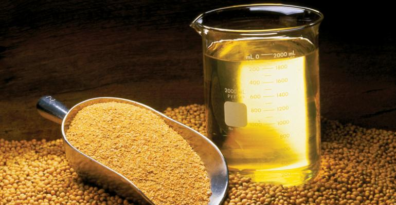 soybean oil and meal