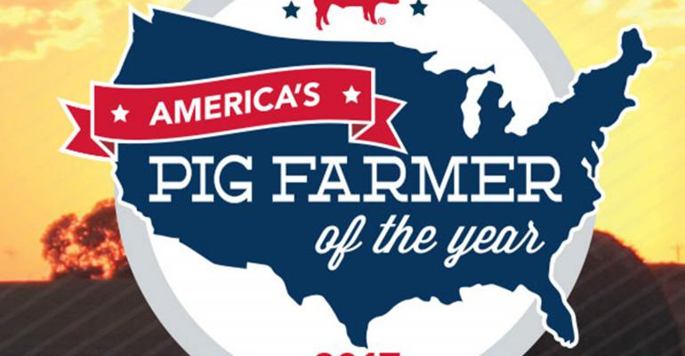 America's Pig Farmer of the Year 2017 logo