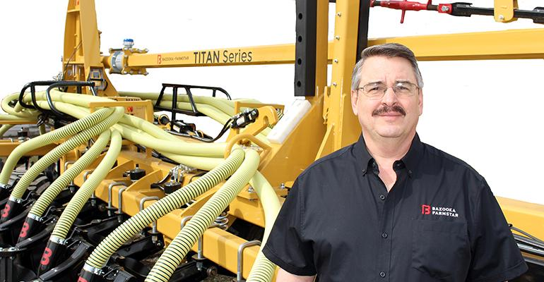 Kevin Wolter, Bazooka Farmstar sales and business development manager