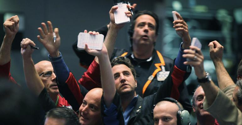 CME trading pit