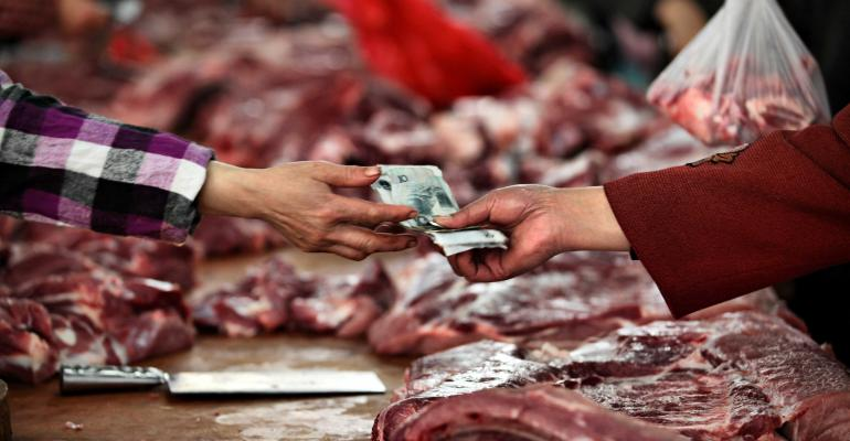 China pork market