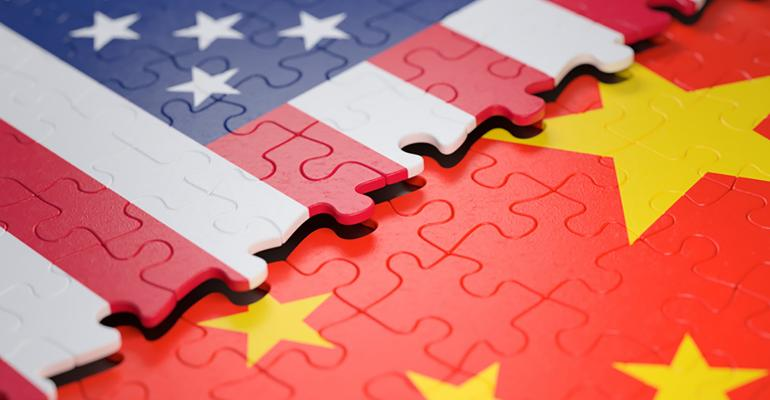 U.S. China trade puzzle pieces fitting together