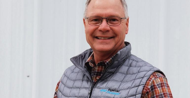 Tom Gillespie, DVM, Master of the Pork Industry, works with swine producers around the globe. He inspires swine veterinarians worldwide to jump in and go boldly to assist hog farmers with pig farming challenges.