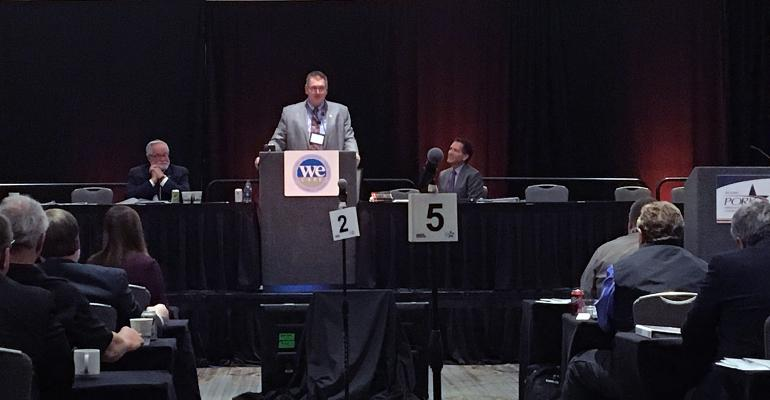 NPPC president introduces new board officers, thanks outgoing president Ken Maschhoff