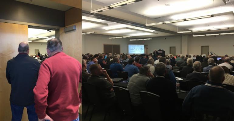 Kerns & Associates gives their economic outlook at the 2019 Iowa Pork Congress.