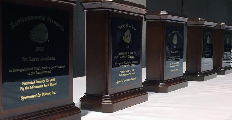 awards night at Minnesota Pork Congress