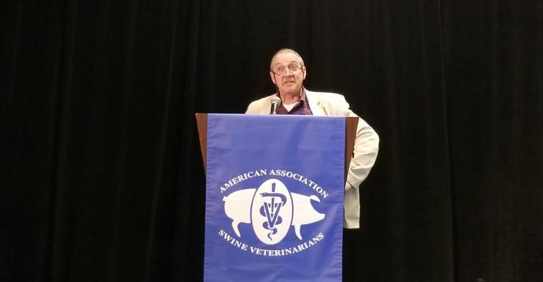 Mark White, president of the Pig Veterinary Society