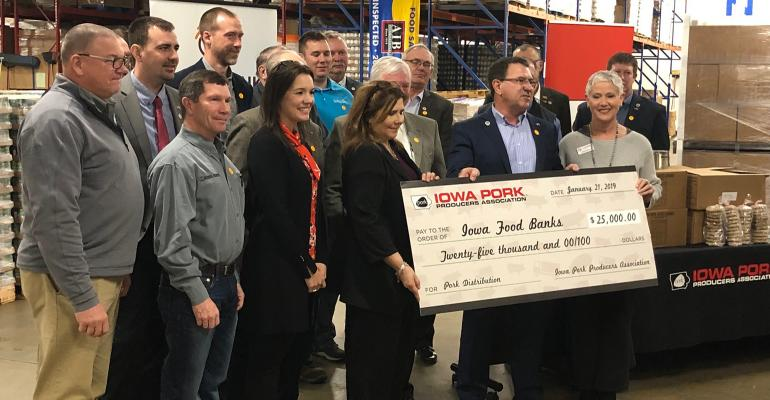 The IPPA recently donated $25,000 to Feeding America food banks operating in Iowa to help with the overall storage and distribution.