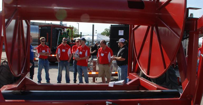 Hydro Engineering's team gives the New Product Tour panel the rundown of the improvements made for the release of the HR128AG manure applicator hose reel.