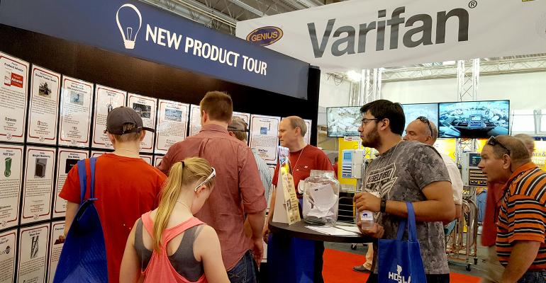 World Pork Expo attendees were interested in this year's New Product Tour.