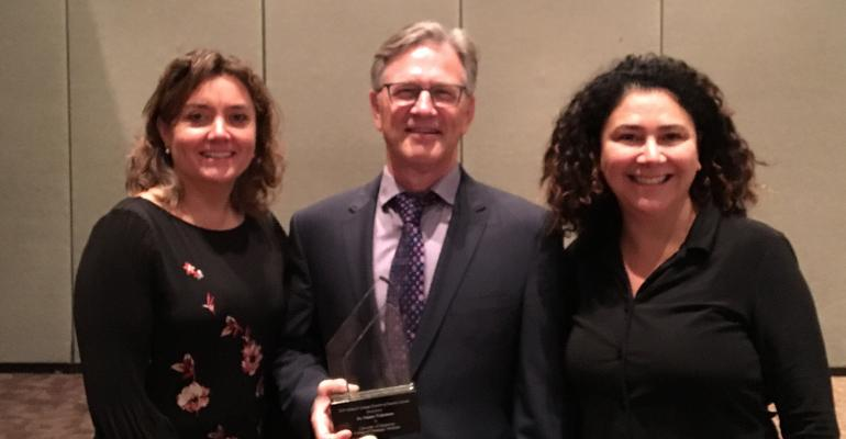 Nathan Winkelman is honored to be the recipient of the 2019 Allen D. Leman Science in Practice Award.