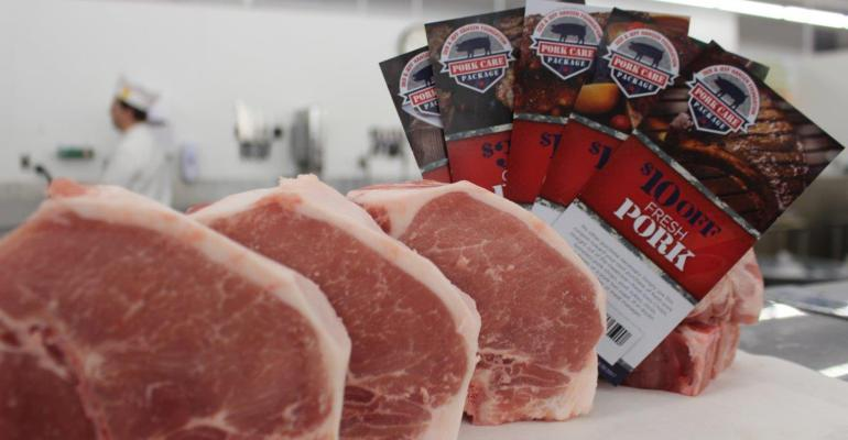Pork cuts and coupons from Iowa Select Farms and the Deb and Jeff Hansen Foundation for Iowa military families.