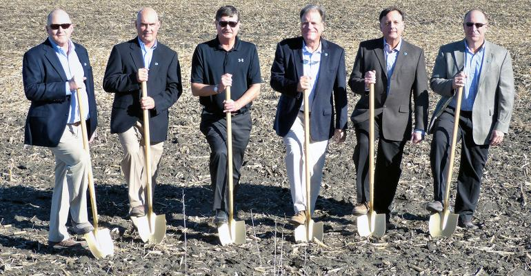 Pictured from left to right: Ryan Pudenz, General Manager, Prestage Farms of Iowa, Zack McCullen, Vice President – Swine Division, Prestage Farms, Inc., Dr. Ron Prestage, President Prestage Farms of South Carolina and Prestage Farms of Mississippi, Scott Prestage, Vice President – Turkey Division, Prestage Farms, Inc., John Prestage, Senior Vice President, Prestage Farms, Inc., and Jere Null, Chief Operating Officer, Prestage Foods of Iowa.
