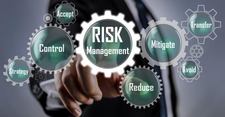 Risk management illustration