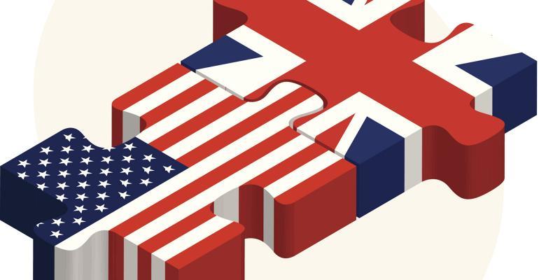 Graphic of U.S.-U.K. interlocking puzzle pieces