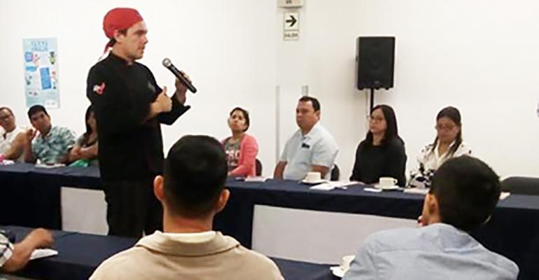 USMEF has shifted its pork marketing efforts to hotels and restaurants in Peru.