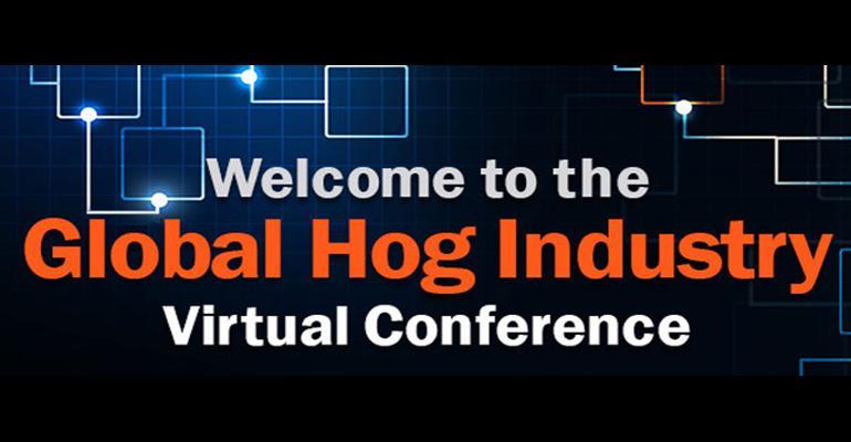Global Hog Industry Virtual Conference logo banner