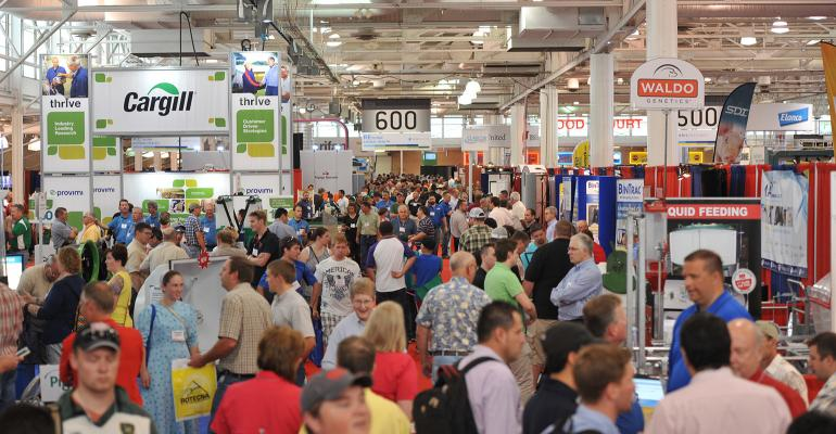 Photo of World Pork Expo attendees
