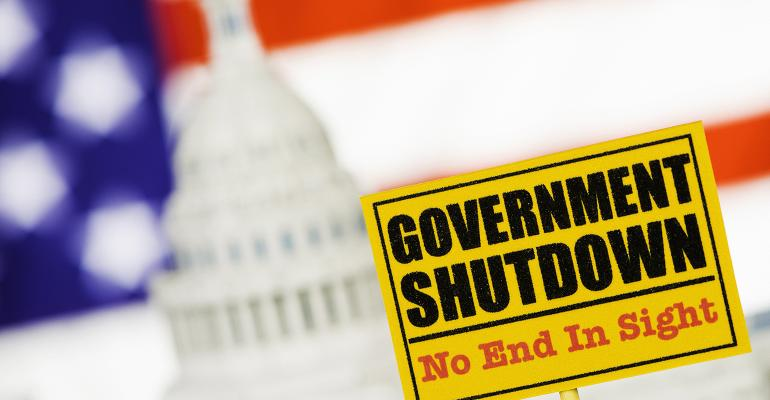 Government shutdown, no end in sight illustration