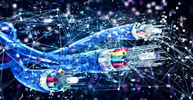 Broadband illustration