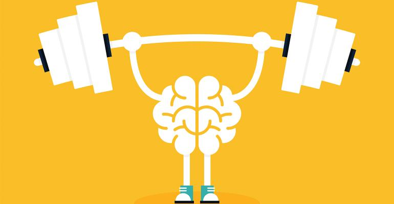 brain power illustration