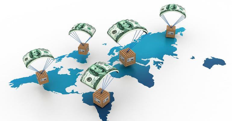 global trade illustration