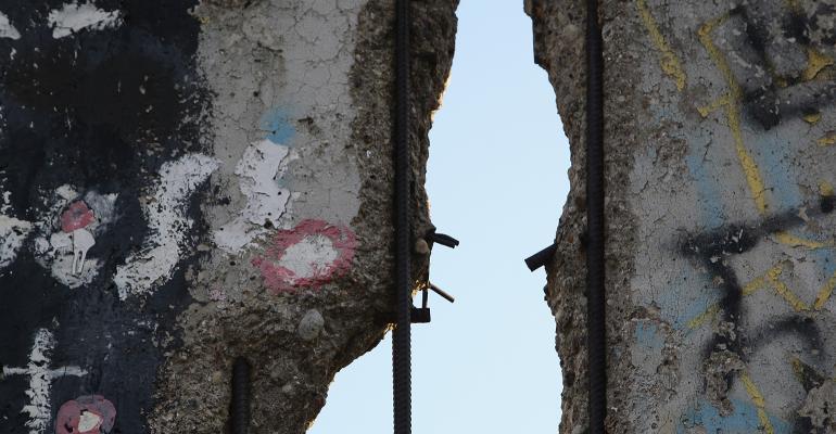 Gap in the Berlin Wall