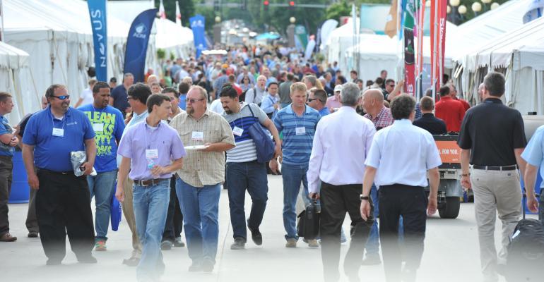 World Pork Expo crowd
