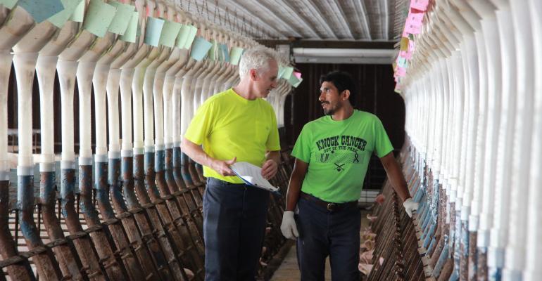 Patrick Bane with Employee.JPG