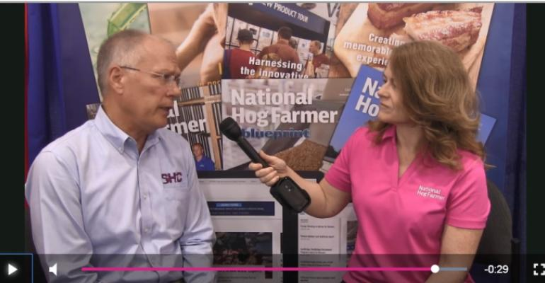Paul Sundberg, Swine Health Information Center, interviews with Cheryl Day, National Hog Farmer