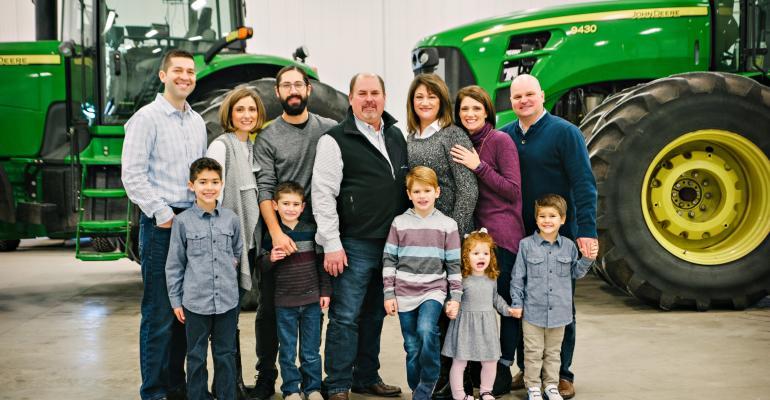 Zehr, Illinois Family of Year
