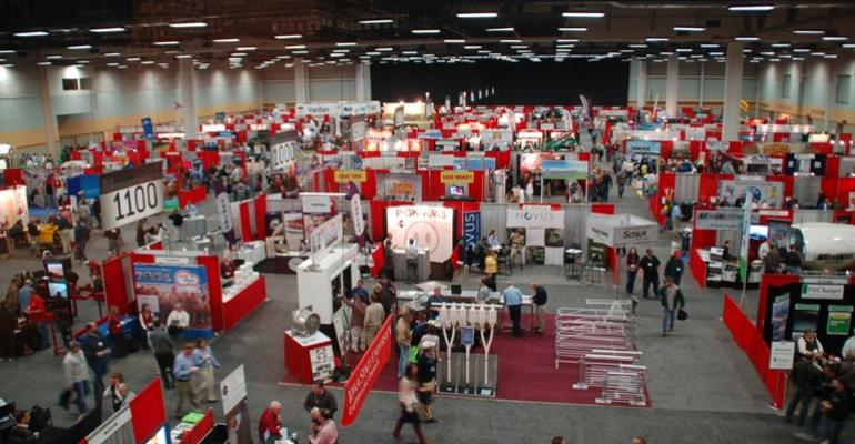 HyVee Hall in the Iowa Events Center was filled with 500 booths making up the Iowa Pork Congress Trade Show