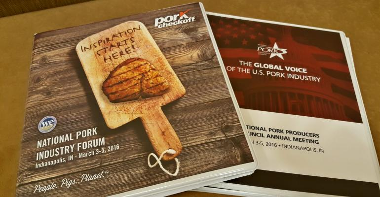 Pork delegates tackle the tough issues