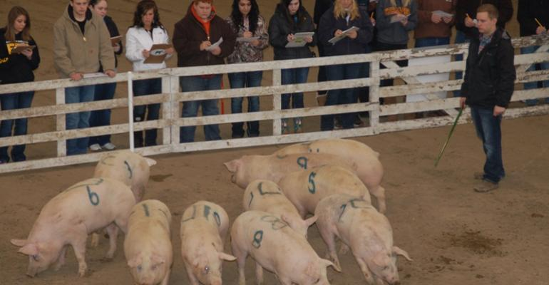 Iowa Pork Congress Youth Judging Contest