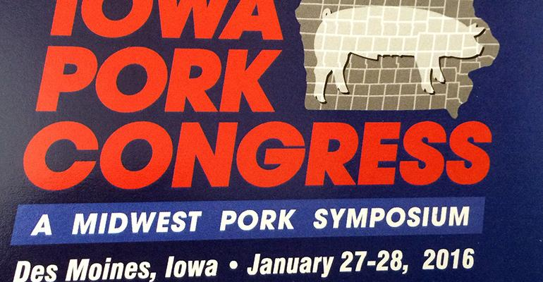2016 Iowa Pork Congress
