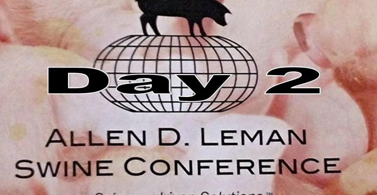 Day 2: Allen D. Leman Swine Conference