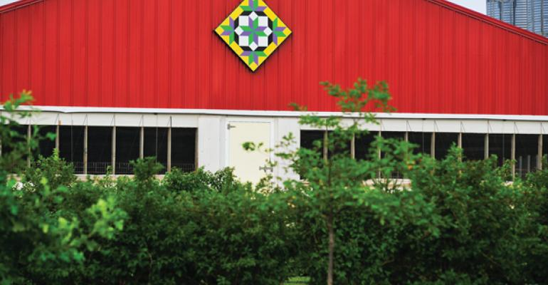 Barn Quilts Add Color to Finishing Barns
