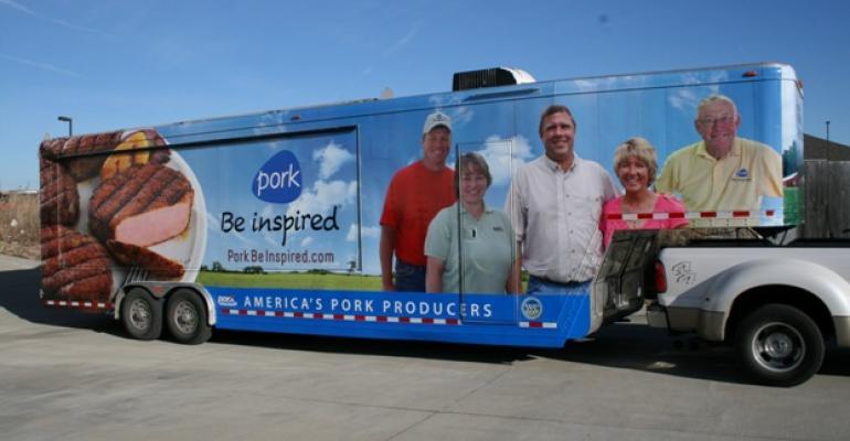 Pork Checkoff Trailer