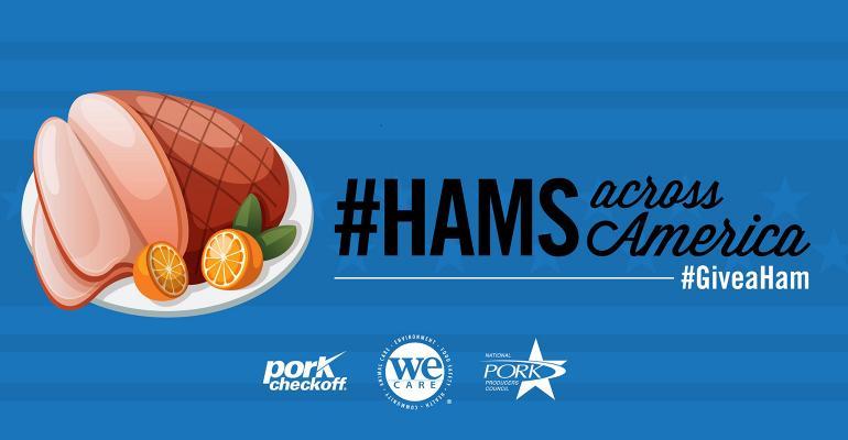#Hams Across America illustration