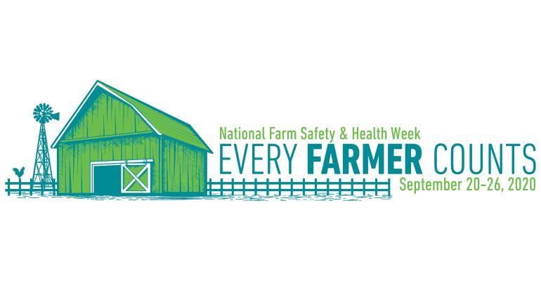National Farm Safety Week 2020 logo