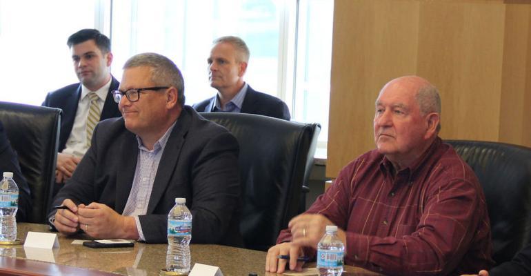 Iowa Ag Secretary Bill Northey with Ag Secretary Sonny Perdue