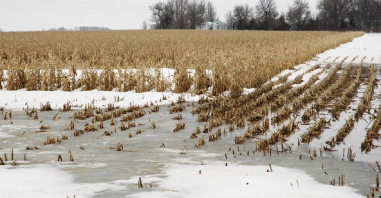 Use Caution with Winter Manure Application
